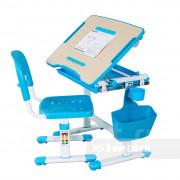 Комплект парта + стул трансформеры Fundesk Bambino Blue