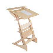 Высокий стол «Гармония» для учебы стоя с автоматической регулировкой