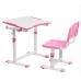 Cubby Комплект парта   стул трансформеры Olea 670/470мм