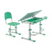 Комплект парта + стул трансформеры DISA GREEN CUBBY (Ширина: 830мм / Глубина: 495мм)