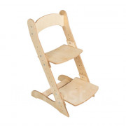 Растущий стул для детей «Компаньон» натуральный цвет