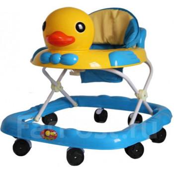 Ходунки детские (8 колес, игрушки, муз)