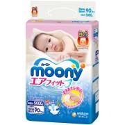 Moony подгузники NB (до 5 кг), 90 шт