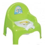 Горшок-кресло детский с крышкой