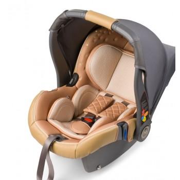 """Автокресло Happy Baby """"Gelios V2"""" Beige 0-13 кг.(Бежевое)"""