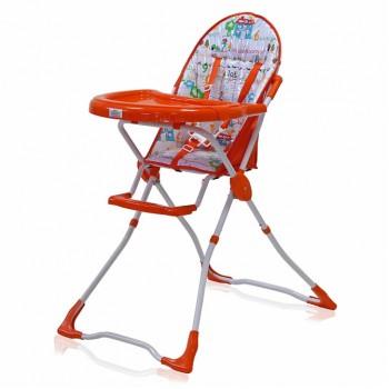 """Стульчик для кормления детский """"Fredo"""" (Оранжевый)"""